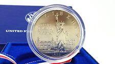 1986-P Statue of Liberty Silver Dollar Commemorative Coin with Original Box