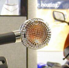 Blanc Clignotant Kawasaki VN 1500 1600 Vulcan Mean Streak clear signal lenses