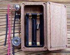 Wood Mod Box Kit 18650 Enclosure DIY Mosfet Hammond 1590g  PV