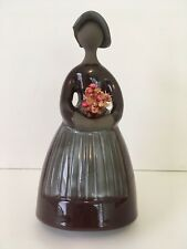 Tall Jie Gantofta Sweden Elsi Bourelius Girl Figurine Chocolate Brown Dress Tags