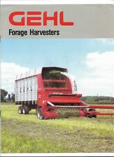 Original OEM Gehl 965 1065 1265 Forage Harvesters Sales Brochure # 4832A 395-20M