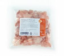 Himalayan Pink Salt 1kg - Pure Naturally Organic Food Grade Salt - Chunks
