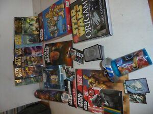 Star Wars Bulk lot of games Books cards novelties