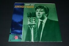 Bobby Solo~Domenica D'agosto~1990 Italian IMPORT~Italodance~Electronic~FAST SHIP