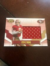 2008 DONRUSS GRIDIRON GEAR STEVE YOUNG PERFORMERS SP 1/50 JERSEY PATCH 49ERS