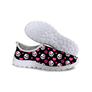New Skull Women Breathable Walking Smart Absorbing Sports Running Shoes Athletic