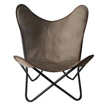 Grey Diamond Chair Iron Stand and Leather Cover for Indoor Outdoor Chair