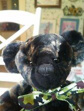 Ooak Artist Teddy bear by Kay Holroyd of Katie Country Bears Uk England 8in Euc