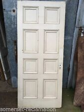 35 5/8u201dx82 7/8u201d Tall Reclaimed Georgian Painted Pine 8 Panel Wide Internal Door & Georgian Antique Doors | eBay pezcame.com