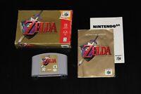 Zelda Ocarina Of Time (Nintendo 64, 1998) - Complete