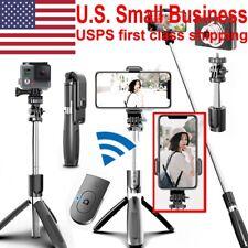 Selfie Stick Stand Tripod Bluetooth Remote For Gopro Iphone Samsung Vlog Tiktok