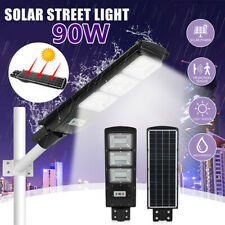 90,000LM Solar LED Street Light Commercial Outdoor IP67 Area Security Road Lamp
