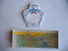 Vintage McDonalds Real Ghostbusters Ruler & Stay-Puft Marshmallow Man Note Pad