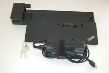 Lenovo ThinkPad Ultra Dock Type 40A2 Docking Station with AC Adapter and Keys