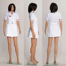 Batman Joker Nurse White Uniform Dress Coat Costume <Custom Made>
