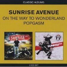 SUNRISE AVENUE - CLASSIC ALBUMS (2IN1) 2 CD 29 TRACKS POP INTERNATIONAL NEW+