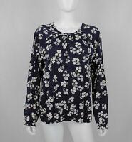 Marc O'Polo Damen Bluse Hemd Oberteil Blumen Gr. XL Perfekt