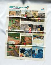 BD - Supplement Spirou 2189 Poster Yoko Tsuno La spirale du temps / 1980 LELOUP