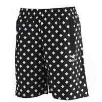 Puma Alife ARC All Over Diamond Print Mens Elastic Shorts Black 568203 01 DD69