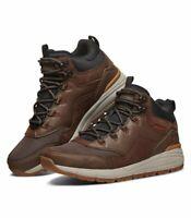 Scarpa stivaletto SKECHERS VOLERO LORENO uomo sneakers marrone memory form 66259