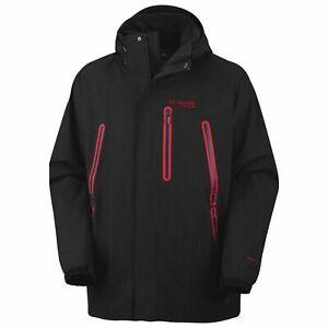 Columbia Titanium Aerial Arson Omni-Heat Shell Jacket - Waterproof- LG MSRP $350