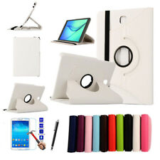 360 Rotating Leather Case + Screen Protect For Samsung Tab 3 8.0/Tab 4 8.0/Tab A