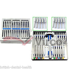 osteotome Sinus levage Instruments Set convexe IMPLANT DENTAIRE CHIRURGIE Labo