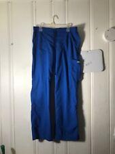 GREYS ANATOMY BLUE SCRUB PANTS WOMENS MEDIUM 33INCH INSEAM #A582