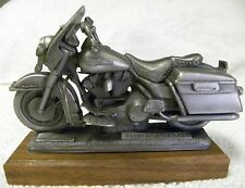 GENUINE HARLEY DAVIDSON '95 ROAD KING LIMITED EDITION PEWER MOTORCYCLE SCULPTURE