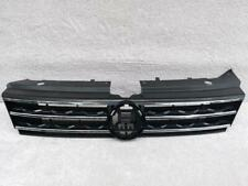 VW TIGUAN 2015-2018 FRONT BUMPER MAIN GRILL TRIPLE CHROME GENUINE