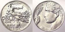 20 CENTESIMI 1921 REGNO D'ITALIA VITTORIO EMANUELE III Q.Fdc/Fdc #9961