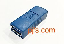 USB 3.0-5Gbps Type A Female To Female Adapter Coupler Connector