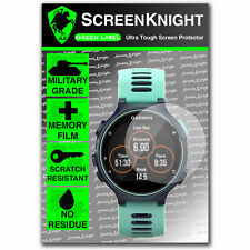 ScreenKnight Garmin Forerunner 735 XT SCREEN PROTECTOR invisible military shield