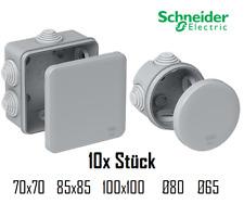 10x Feuchtraum Kabel Abzweigdosen Verteilerdose Aufputz IP55 Schneider Mureva