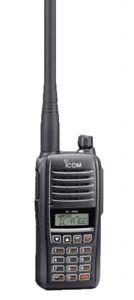 Flugfunkgerät ICOM IC-A16E 8,33 MHz Raster NEU ETSI Norm 300676-2