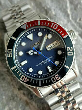 SEIKO SUBMARINER DIVER 7S26-0040 SKX033J 10 BAR AUTOMATIC MEN'S WATCH S.N 777720