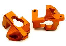 T8688ORANGE Integy Billet Machined Caster Blocks for HPI Ken Block WR8 3.0