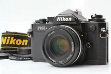 [Near Mint] Nikon FM3A Black SLR Film Camera Ai-s 50mm F1.8 Lens From JAPAN