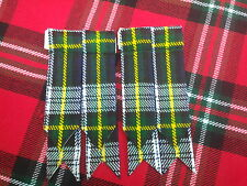 NUEVO Escocesa montaña Vestido De Tartán Gordon DISTINTIVOS Kilt /
