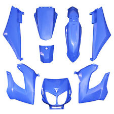 Kit CARENAGE DERBI Bleu 8 coques Senda XRace Xtrem DRD