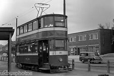 Leeds Corporation Tramcar 181 Cross Gates Terminus Tram Photo B