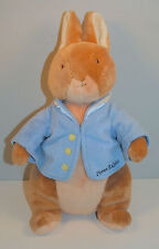 "2005 Peter Bunny Rabbit 12"" Plush Stuffed Beanie Baby Beatrix Potter"