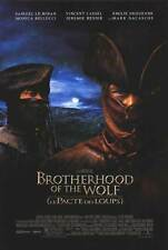 Brotherhood of the Wolf  2 Sided Orig Movie Poster 27x40