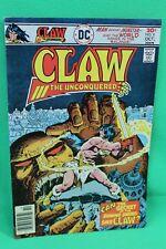 Claw the Unconquered #9 Sword & Sorcery Comic DC Comics F/F+