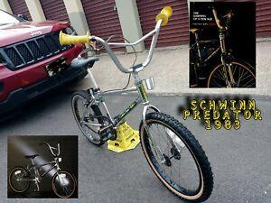 """1983 Schwinn Predator 20"""" BMX (similar HARO KUWAHARA MOGOOSE GT SE ROBINSON FSX)"""