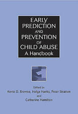 Early Prediction and Prevention of Child Abuse: A Handbook-ExLibrary