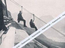 Zugspitze-costruzione della Ferrovia Valle tation obermoss-per 1925 i 7 - 5