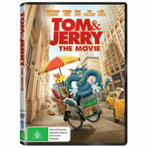 Tom and Jerry - The Movie (DVD, 2021) NEW