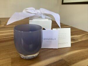 Glassbaby Triumph Votive Candle Holder - Purple Lavender Handcraf Blown Glass