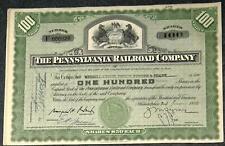 Lot 41 X The Pennsylvania Railroad Company 1950er 100 Shares